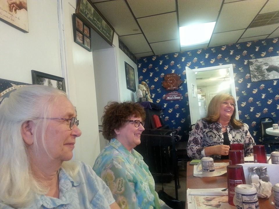 We had a great time with our group at the June 2014 book club meeting