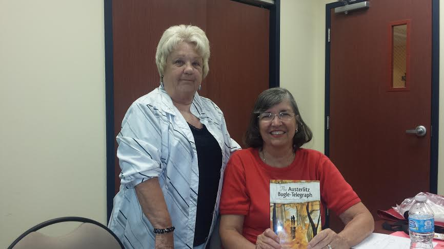 Member Bev Bobo and Author Janet Shailer July 2014 BC