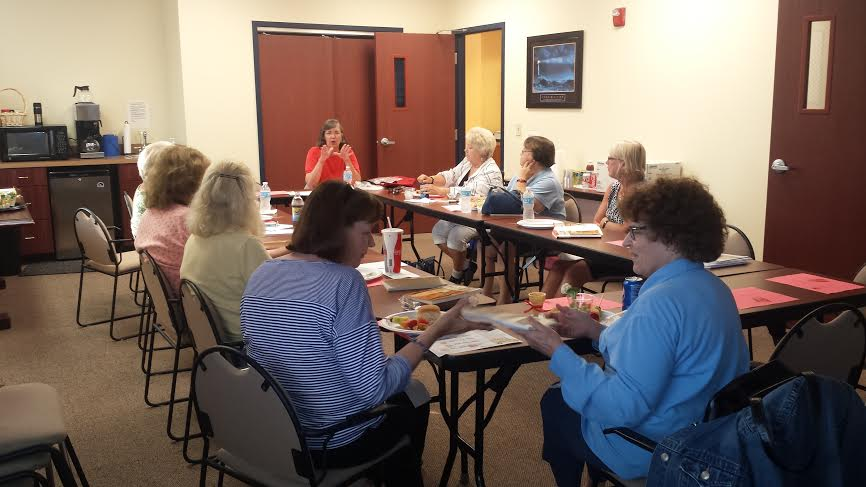 July 2014 Book Club at Community Center