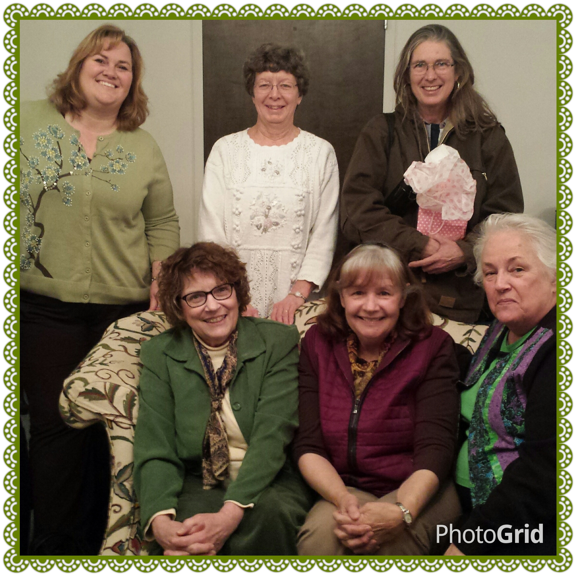 "The Group read ""Ahab's Wife"" for the January book club discussion"
