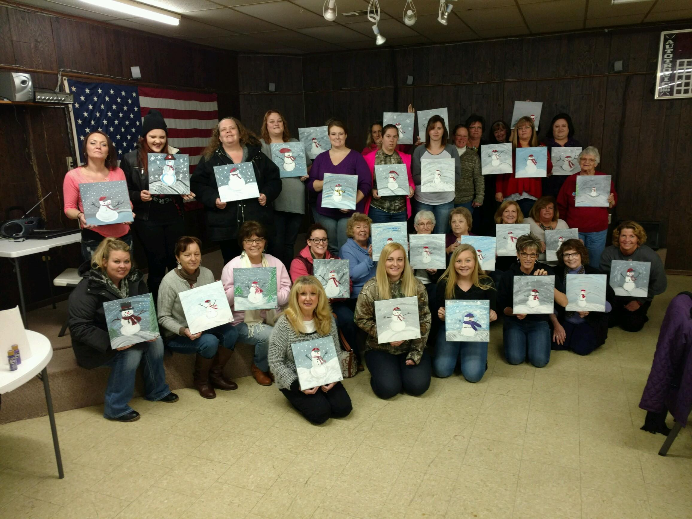 33 people participated in the Paint Mixer