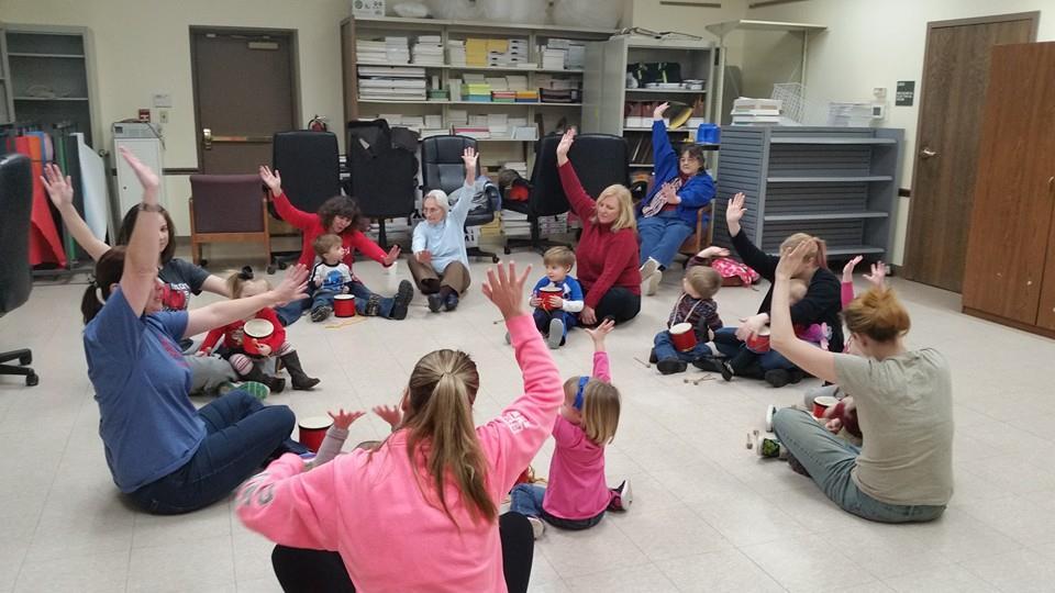Children and adults alike enjoy the WeJoySing program