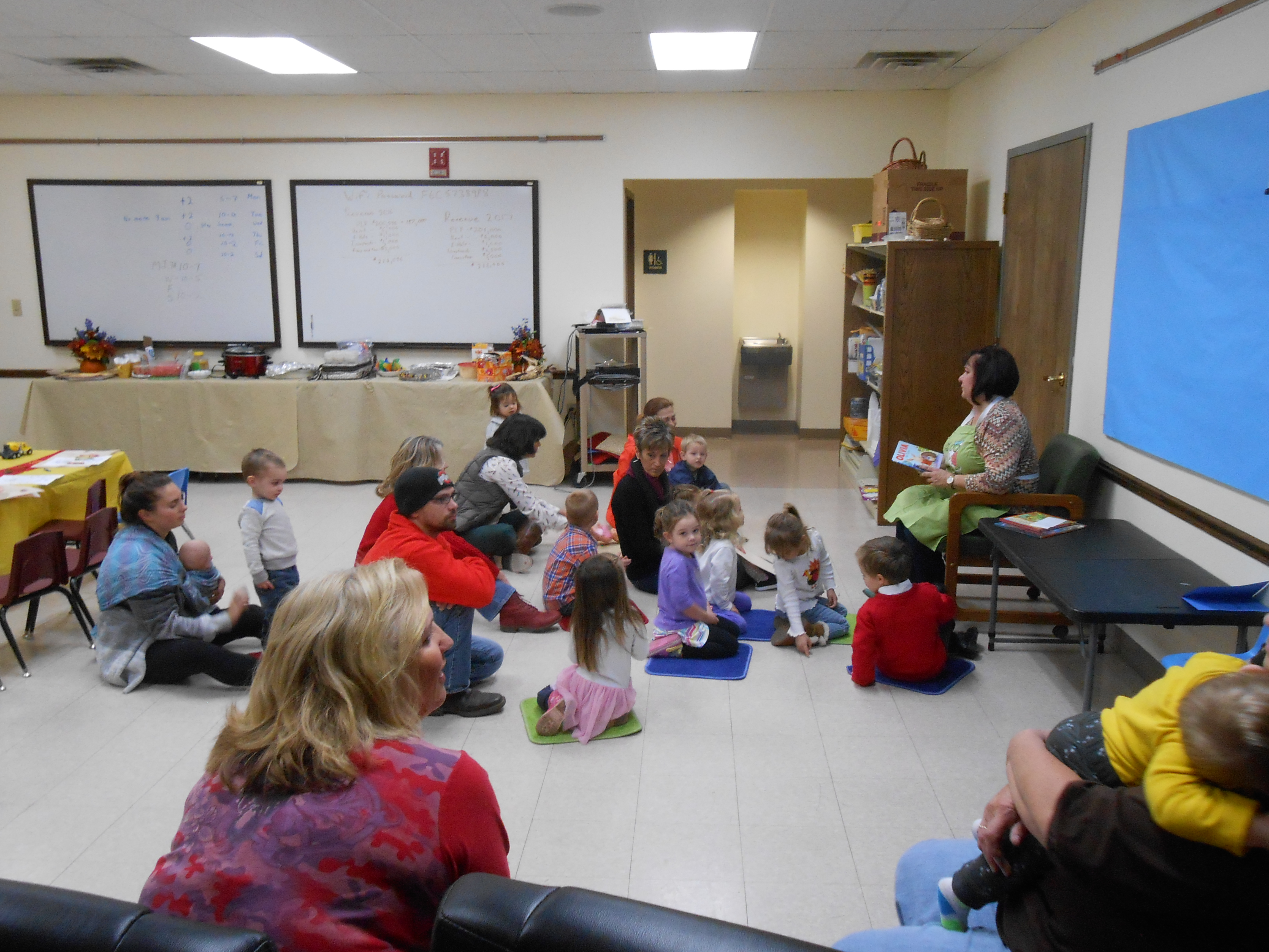 Preschool Story Time continues to be a very popular and fun event for our community