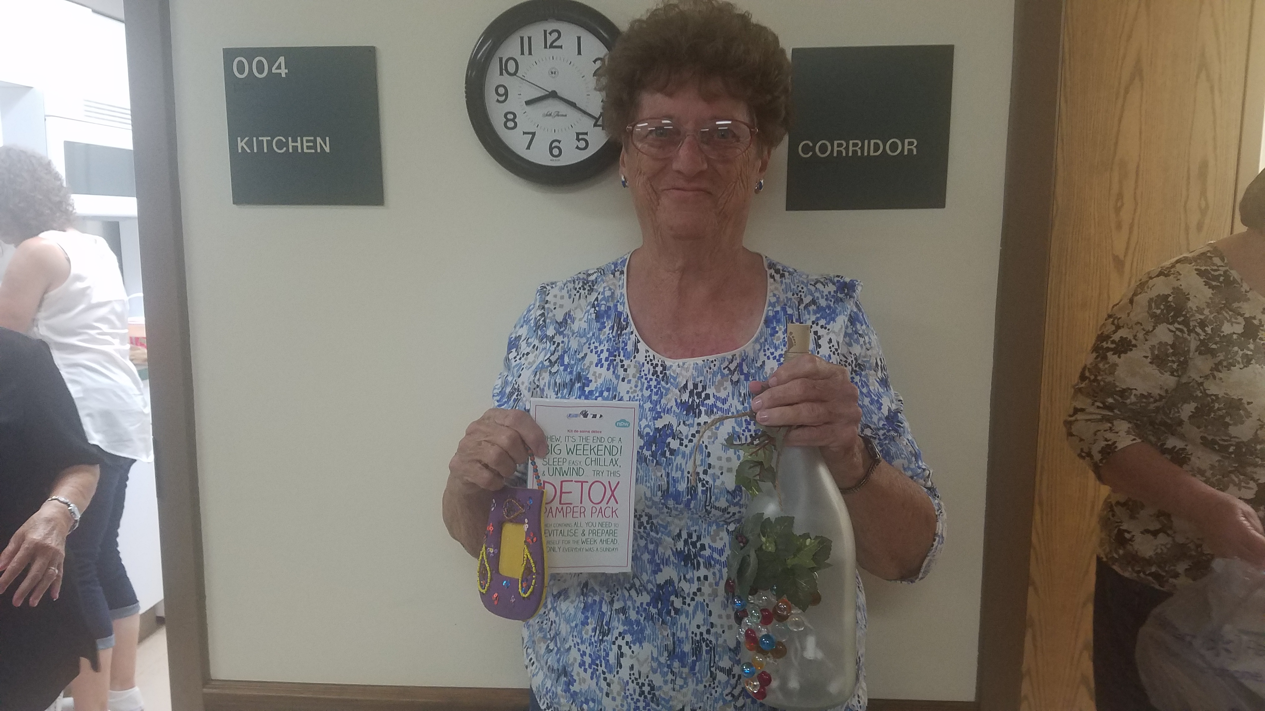 Congratulations to Patsy Smith for winning the August door prize at the Ladies Night Out event!