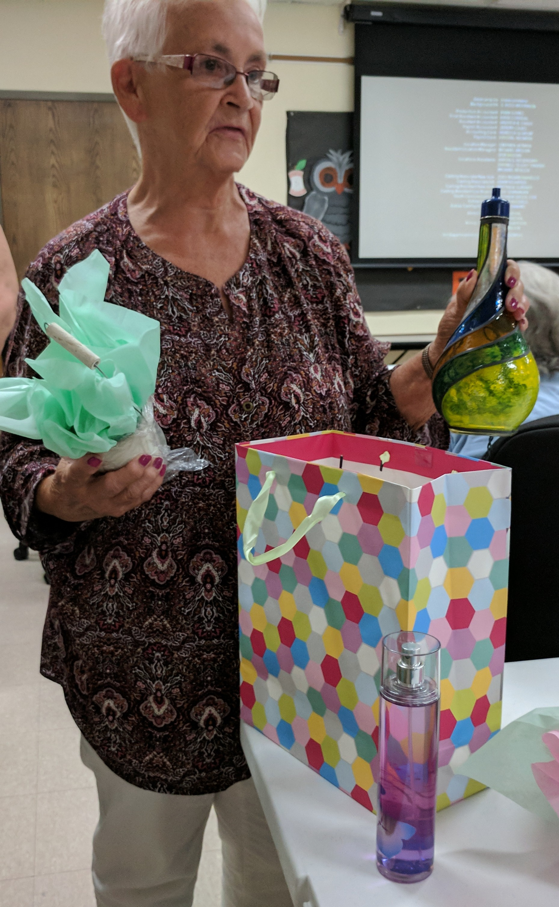 Congratulations to Margaret Conway for winning some great items at the September Ladies Night Out event!