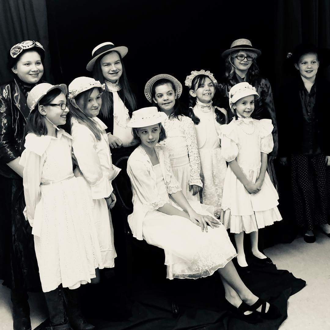 Girl Scout Leader Sara Scott brought many members of her Troop to be  part of the Friends of the Library's Victorian Sweetheart Tea.  Sara won the category for bringing the most guests.