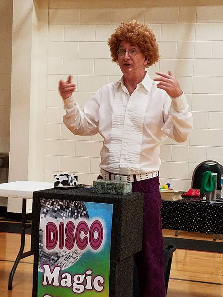 Mark Wood Disco Magic Show