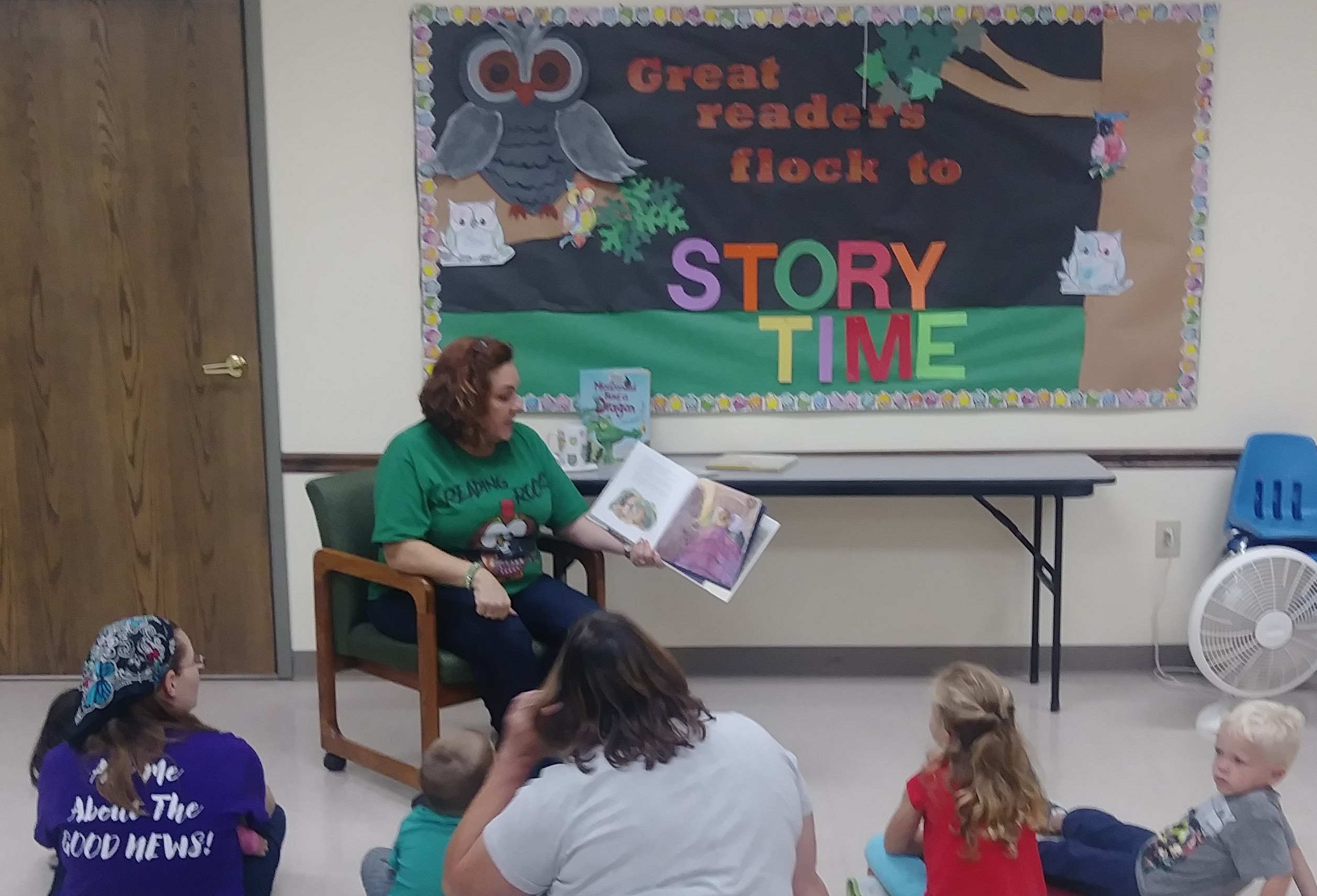 Storytime has returned for the fall sessions.