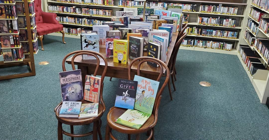 A big thank you to Mt. Sterling Friends of the Library recently for purchasing 50 new young adult and children's books!