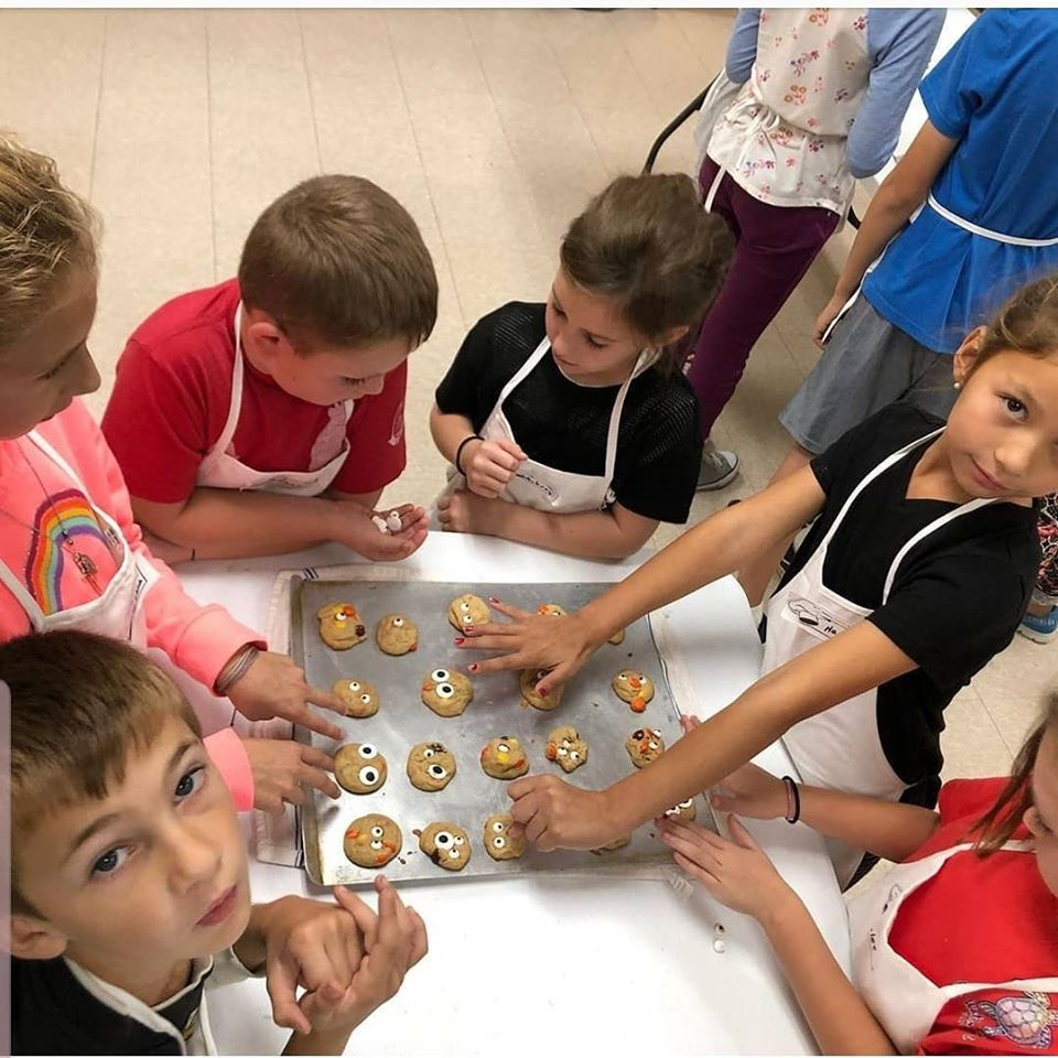 The Kids Cooking Club is in high demand so we created two different classes that meet on different nights. Sorry, but these classes are booked to capacity!