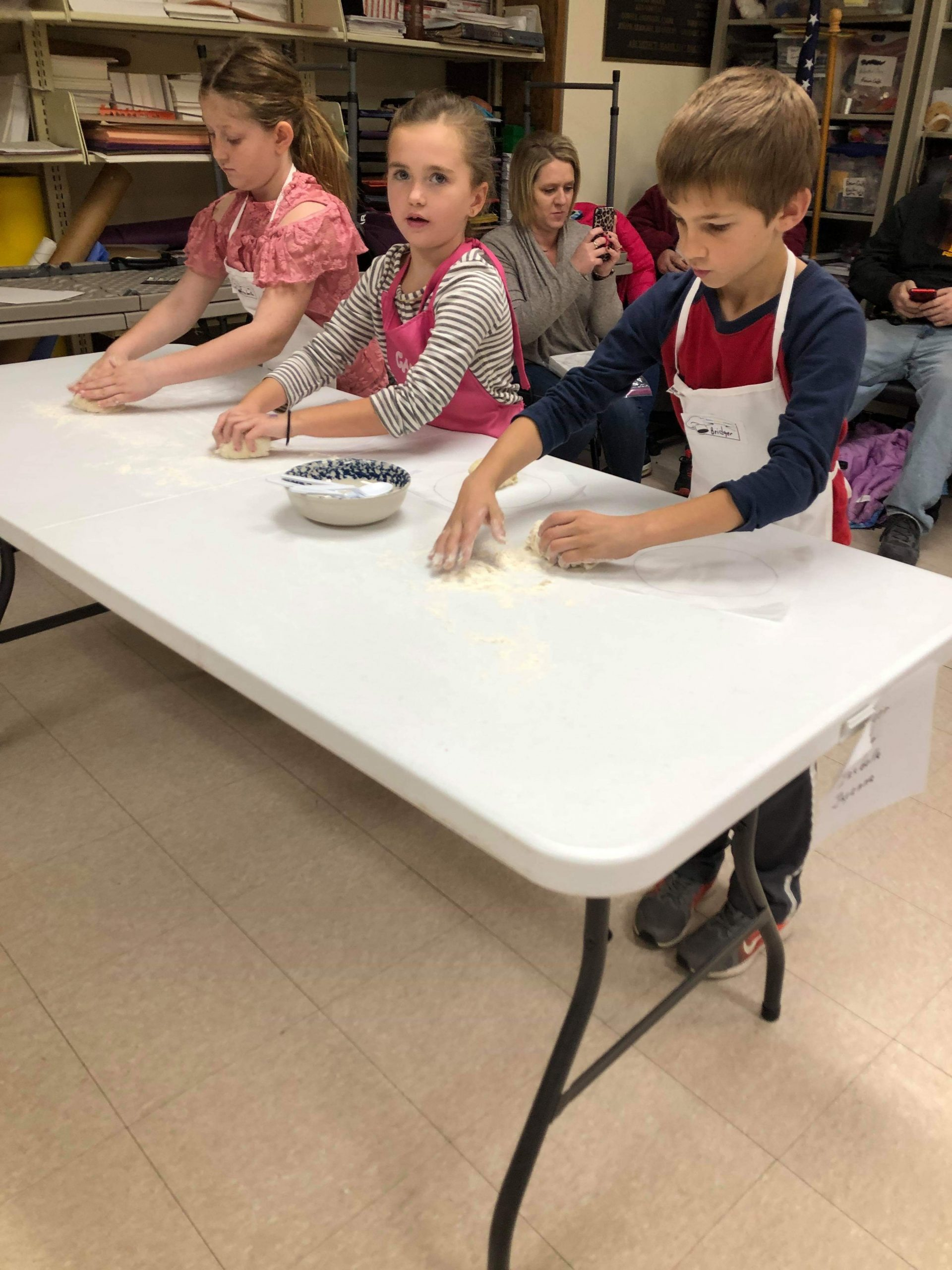 Batters, Splatter, & Platters Kids Cooking Club learned all about the different types of sugar at their November class.