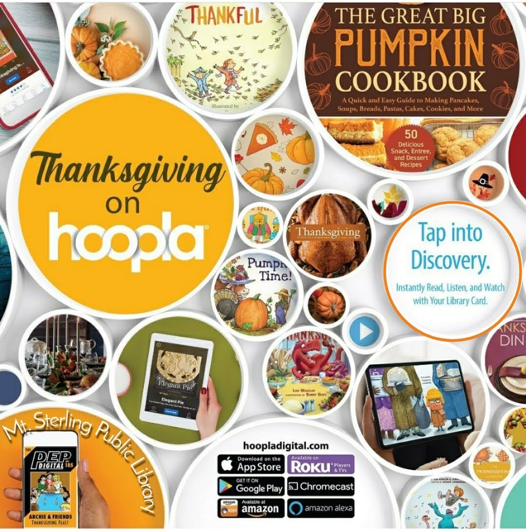Find a huge variety of cookbooks available for your holiday meals.