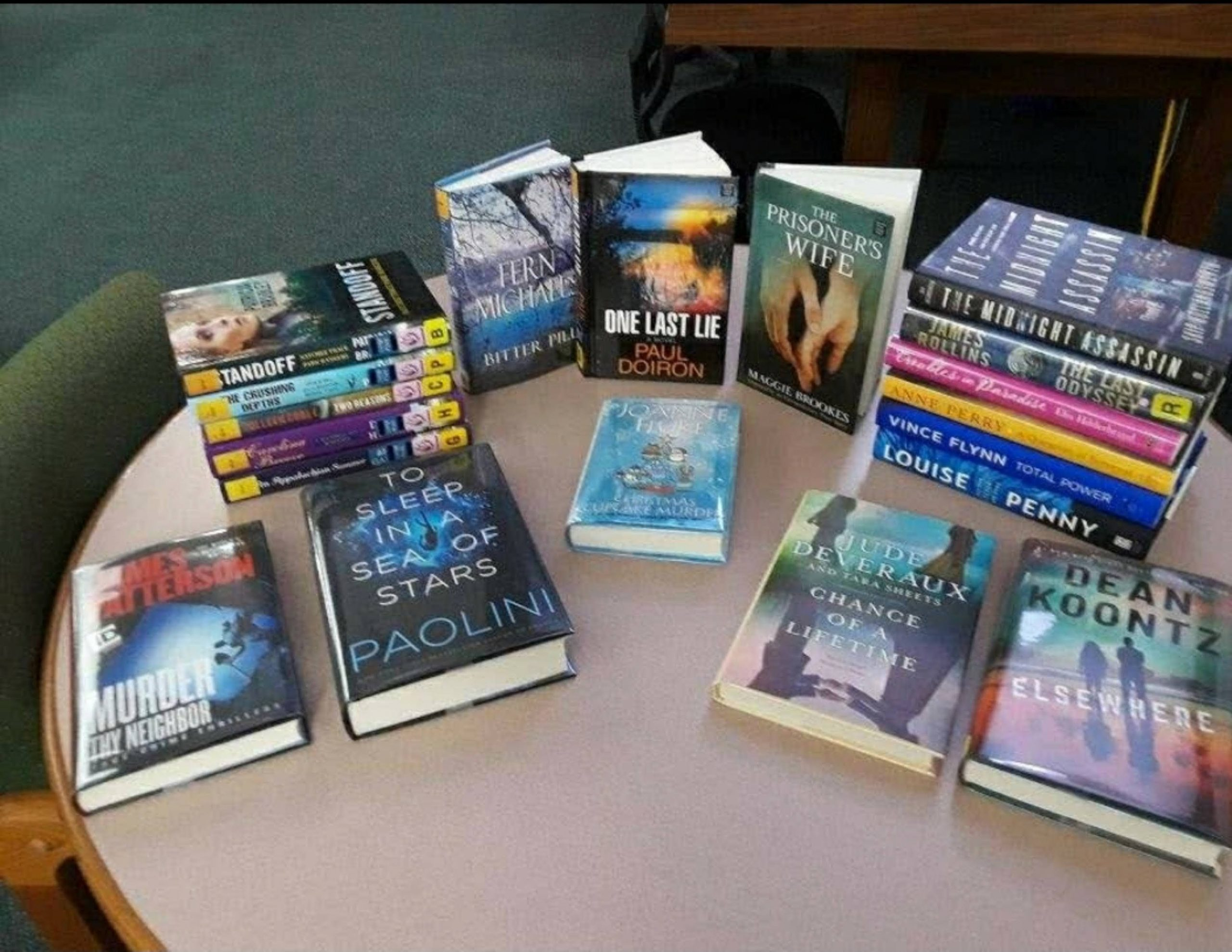 We have recently added new books in a vast array of genre's for your reading tastes.