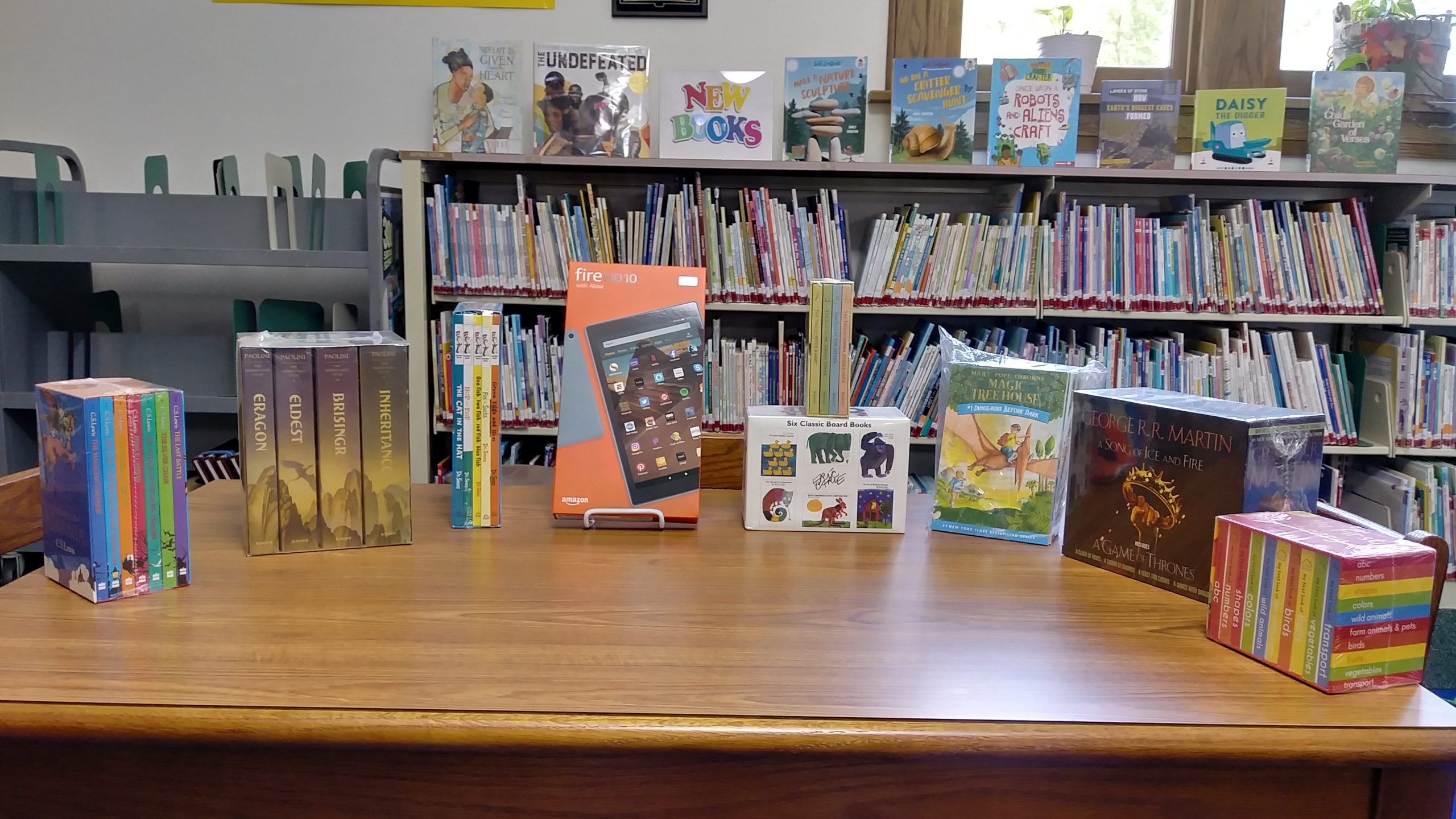 Some of our prizes for the 2020 Summer Reading Challenge