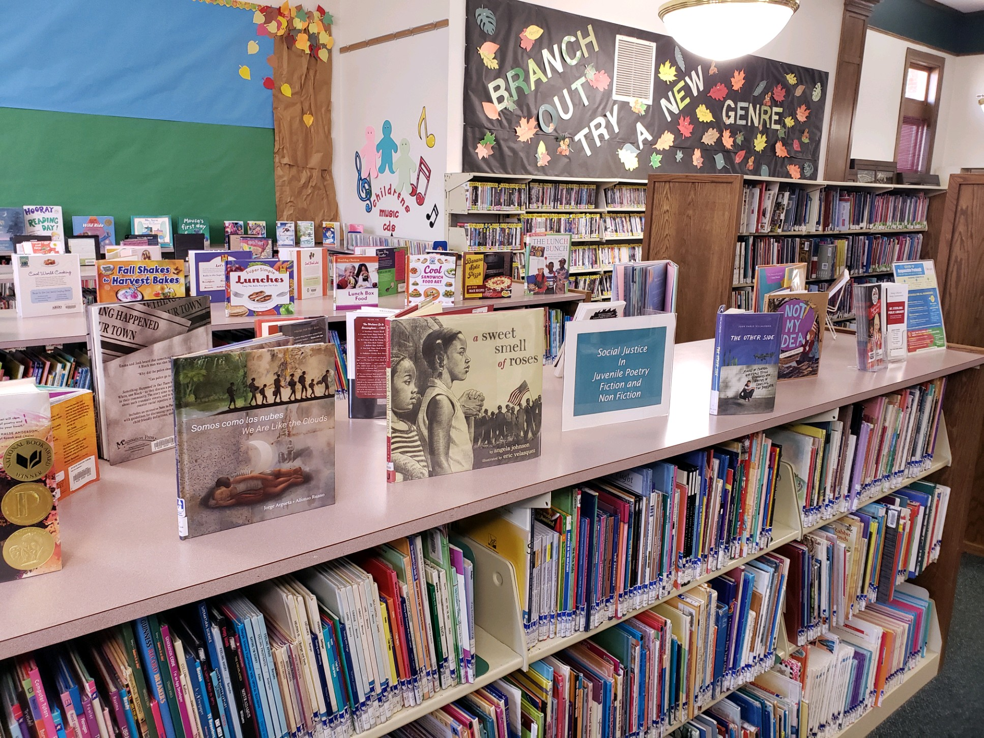 Check out one of our book displays