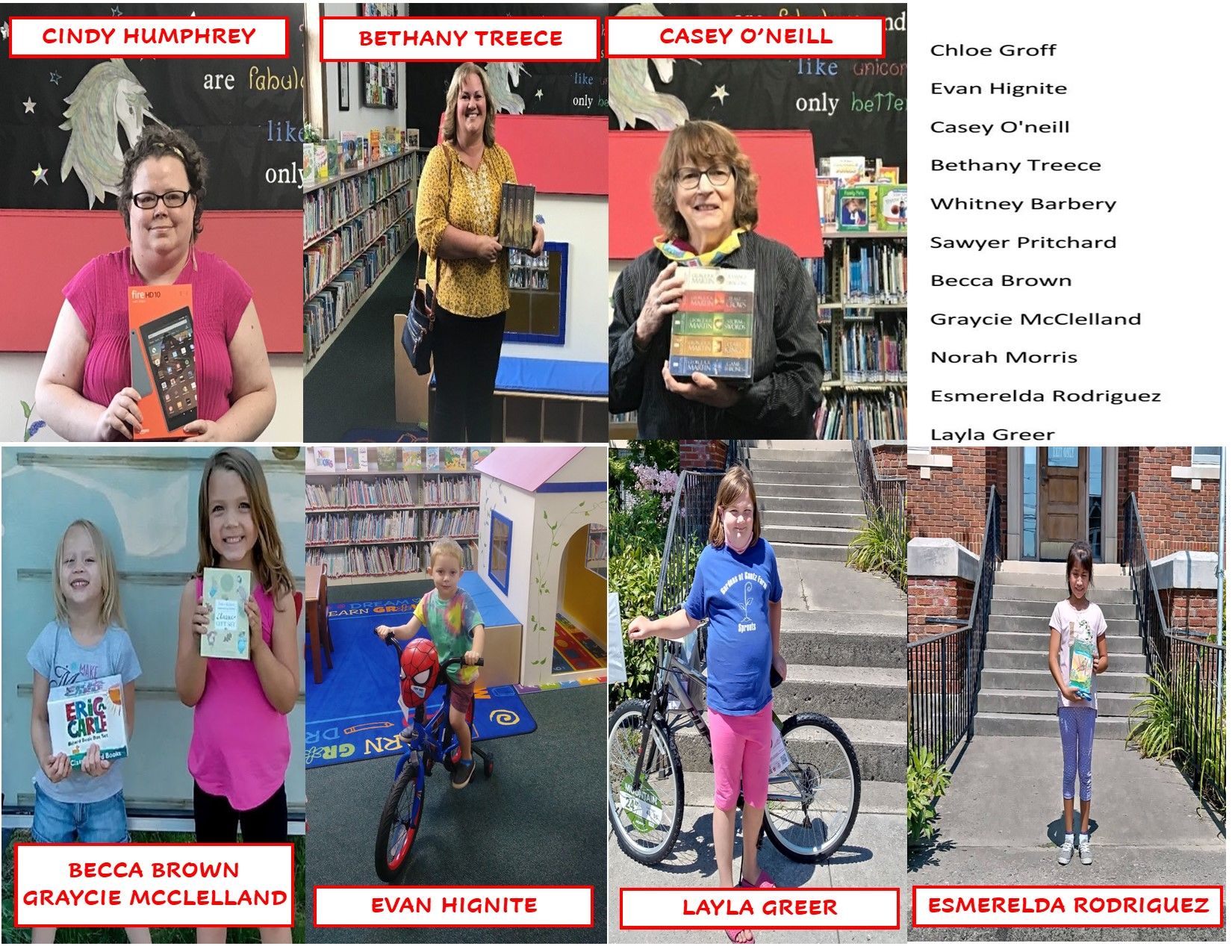 Summer Reading Winners2